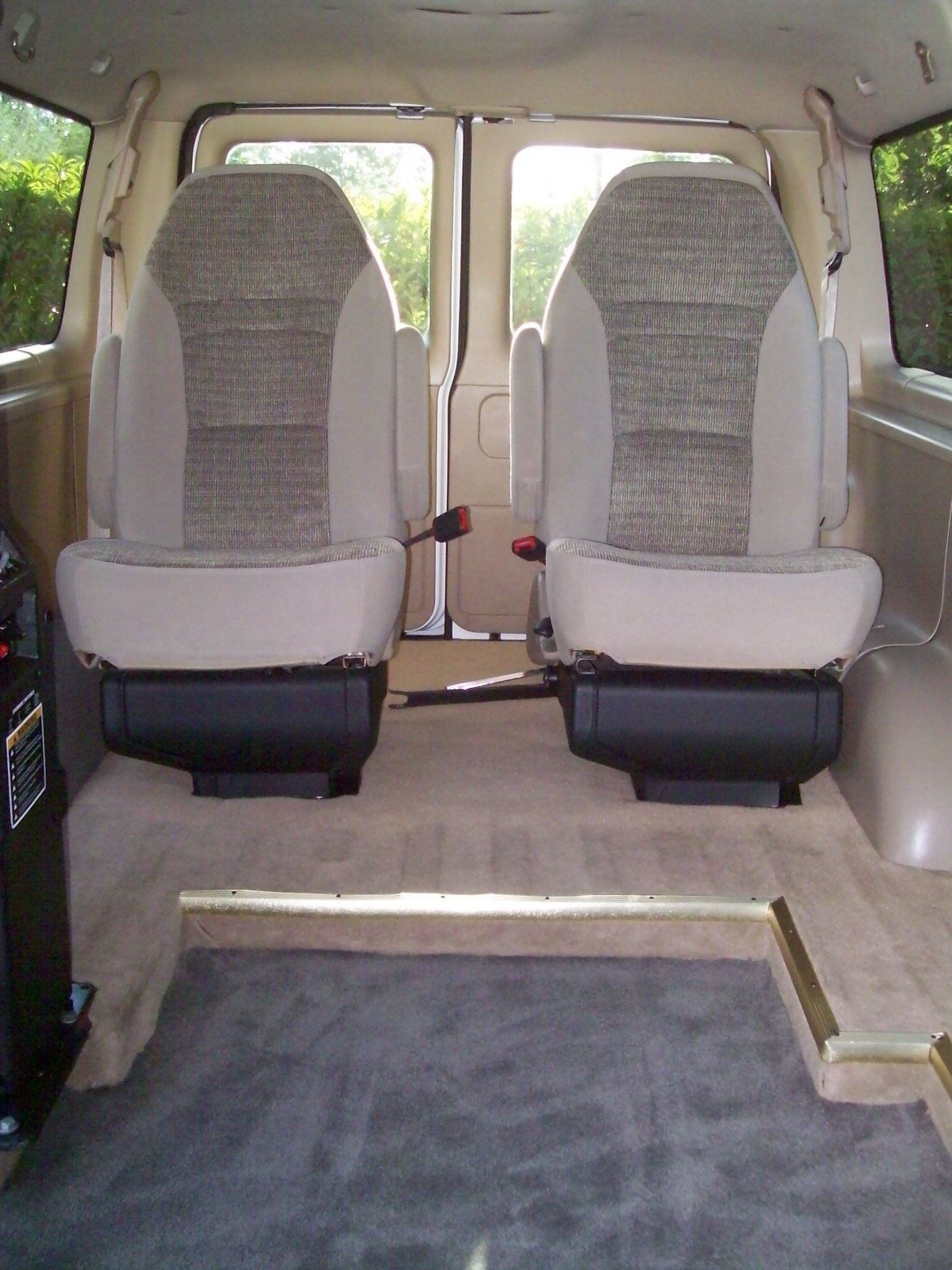 This Van Has Rear Bucket Seats Which Are Very Rare And Desirable Photo Also Indicates The 4 Inch Dropped Floor Click On Picture To Enlarge